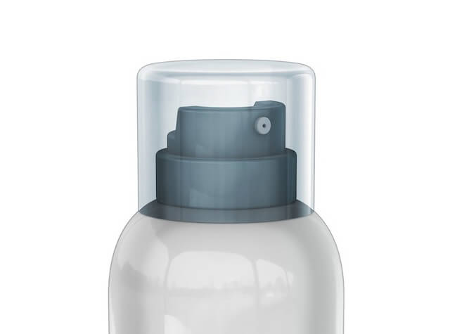 Aerosol container using Bag-on-Valve technology