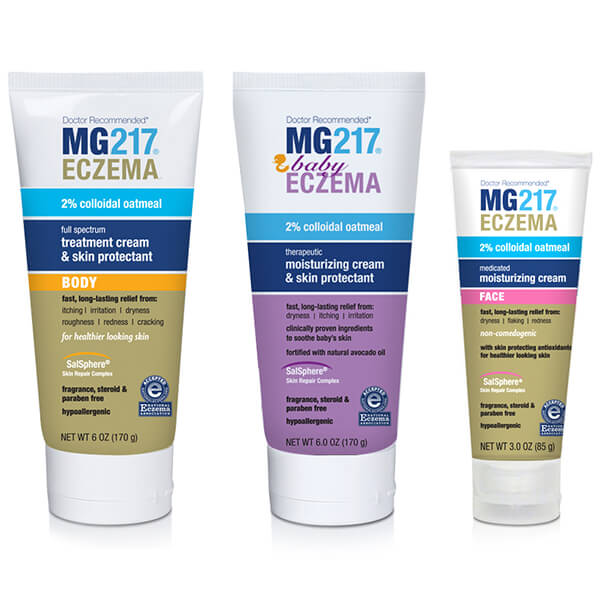 MG 217 Eczema Treatments